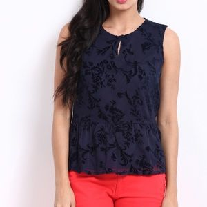United Colors of Bennetton Peplum Top